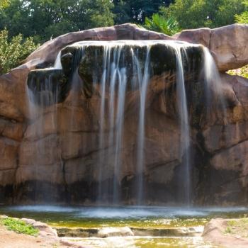 La cascata del Parco delle Cornelle