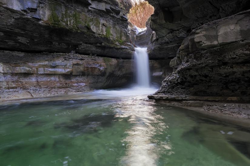 La Cascata della Grotta Urlante