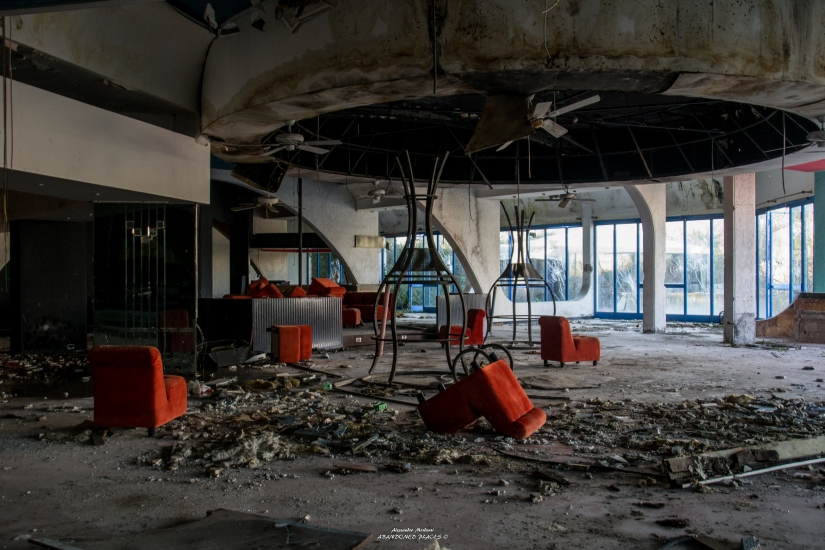 La discoteca abbandonata
