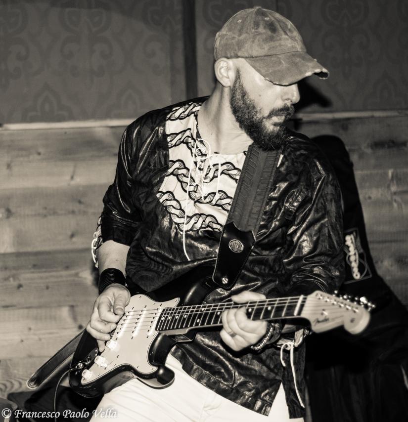 La grinta del chitarrista