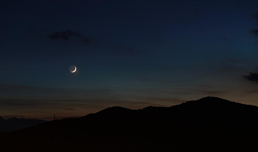 La Luna seguì il Sole
