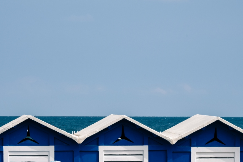 La magia del blu
