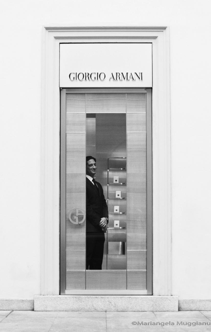 La Milano delle boutiques di lusso