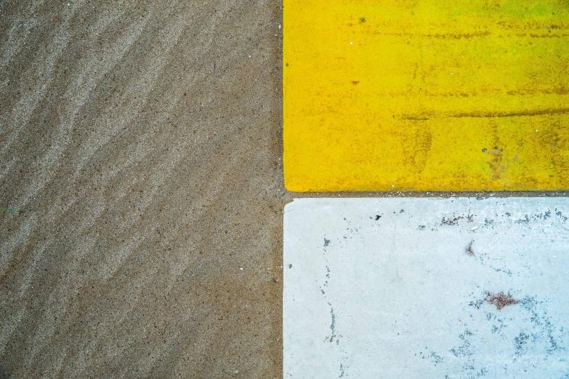 La passerella e la sabbia