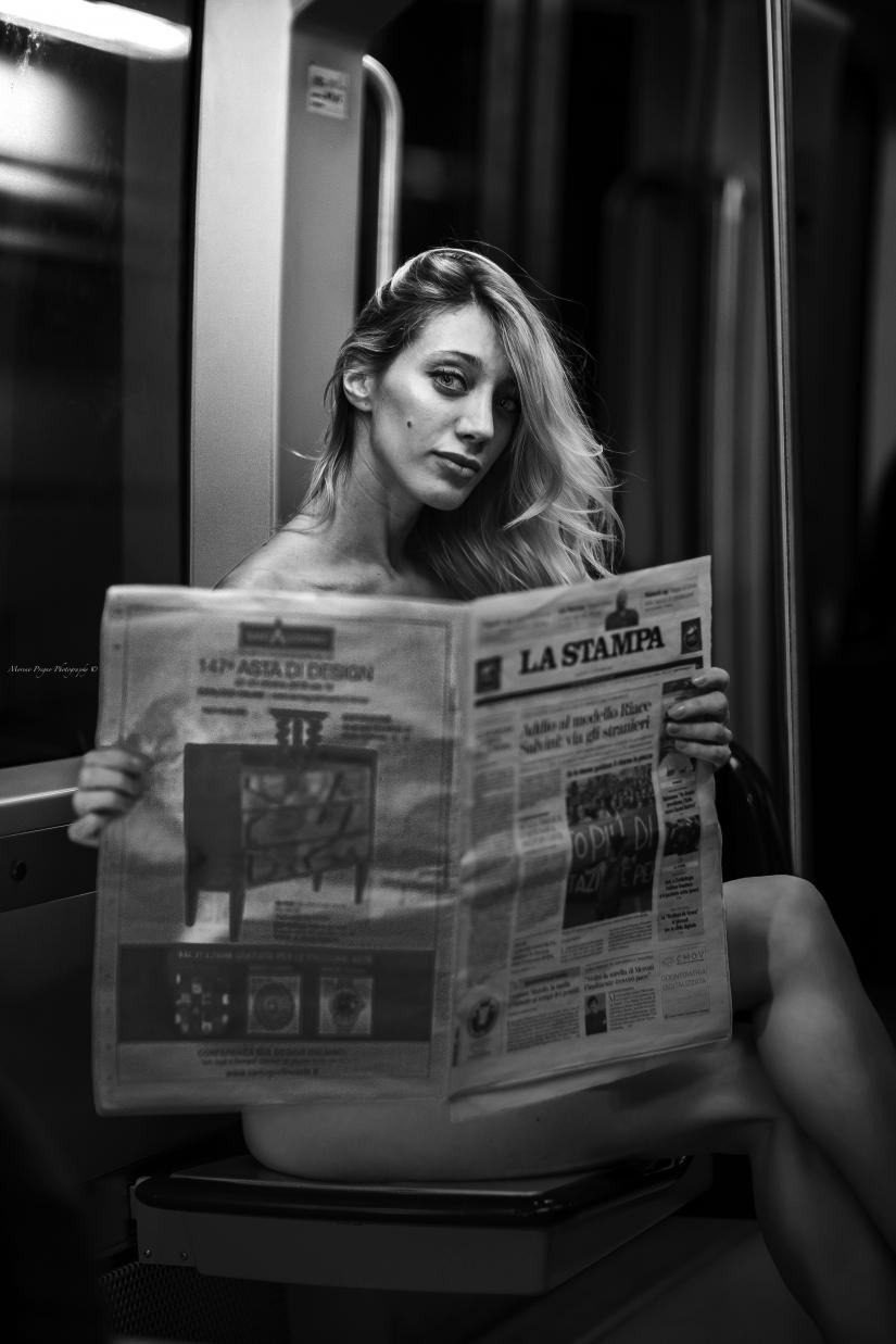 La ragazza della metrò