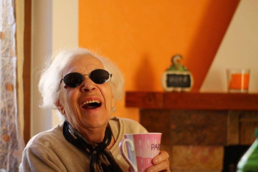 La risata di mia nonna è il suono più bello del mondo