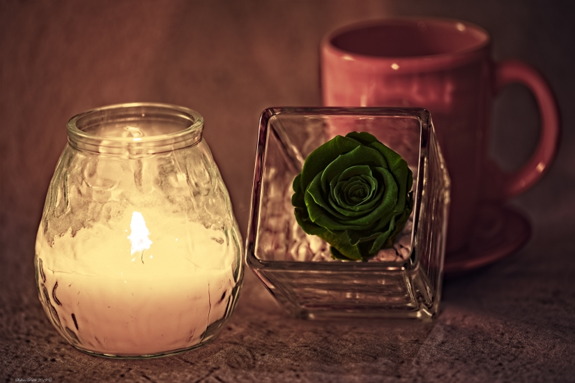 La rosa verde