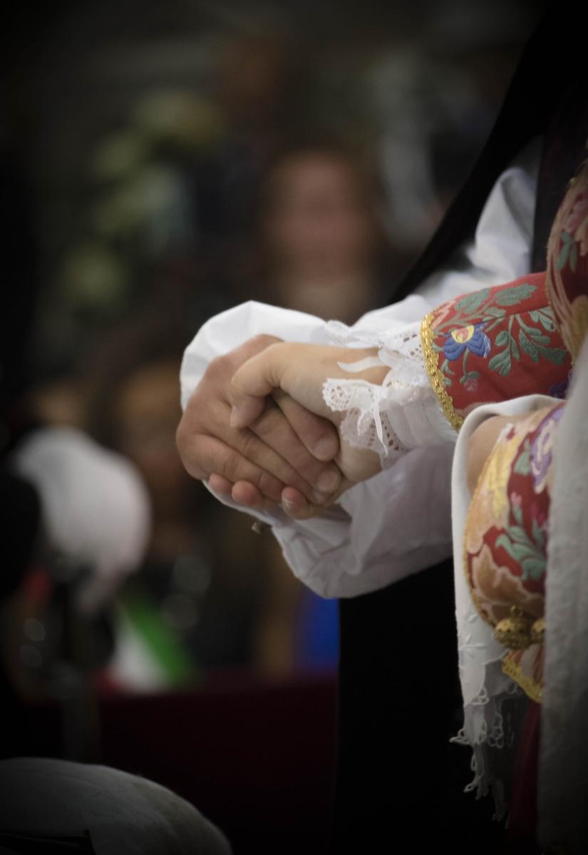La sacralità di un momento e la tradizione sarda...