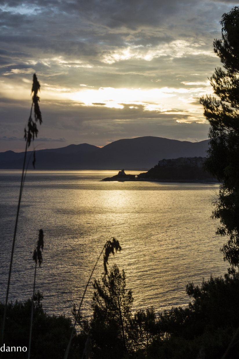 La serenita dei tramonti
