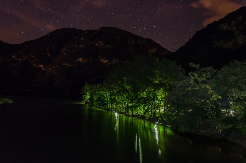 Laggiù una notte al lago