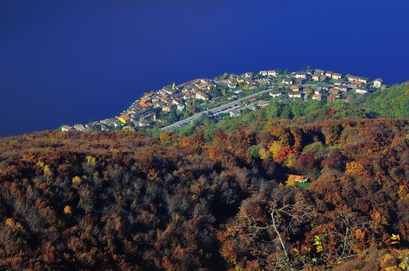 Lago di Lugano dal Monte San Giorgio