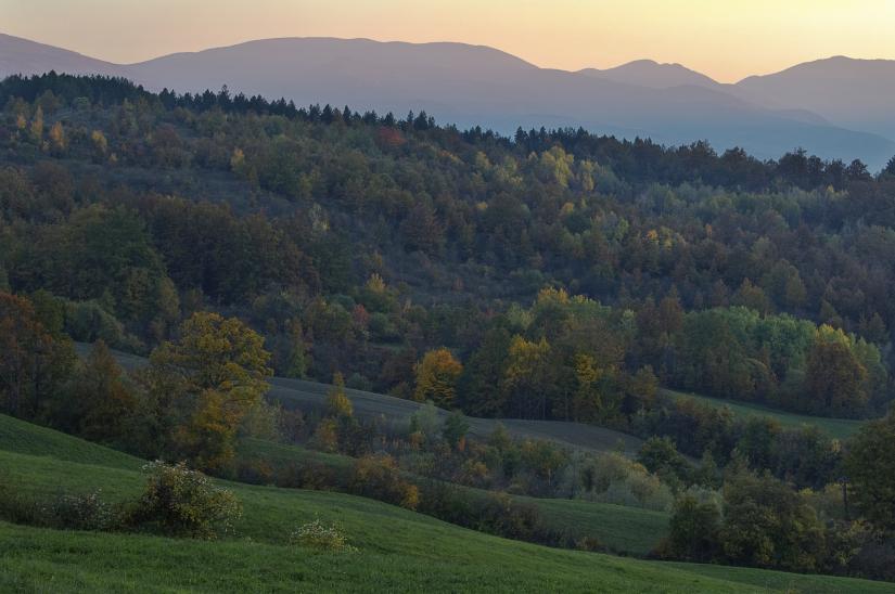 L'autunno al tramonto