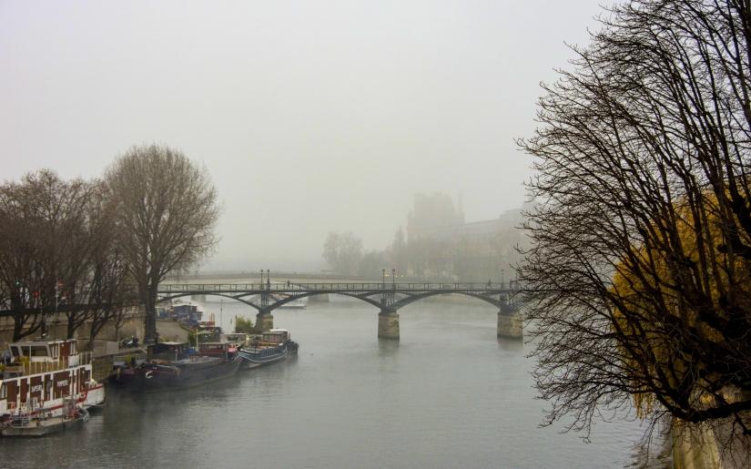 Le  pont des Arts  ...