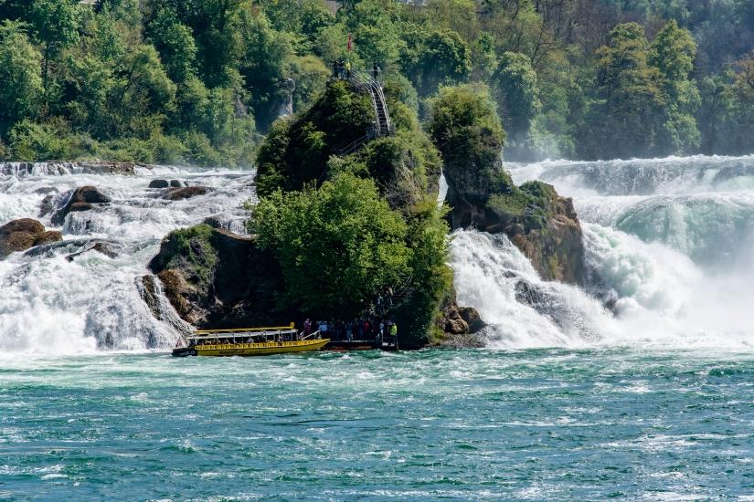 Le cascate di Sciaffusa