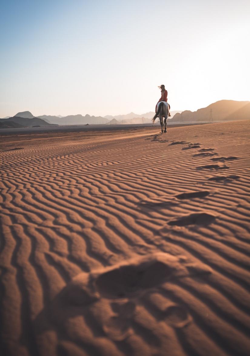 Le impronte del deserto