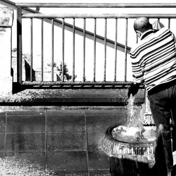 Liberato alla fontana