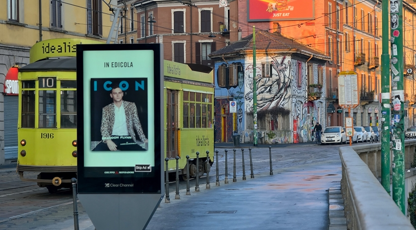 L'iconico tram milanese