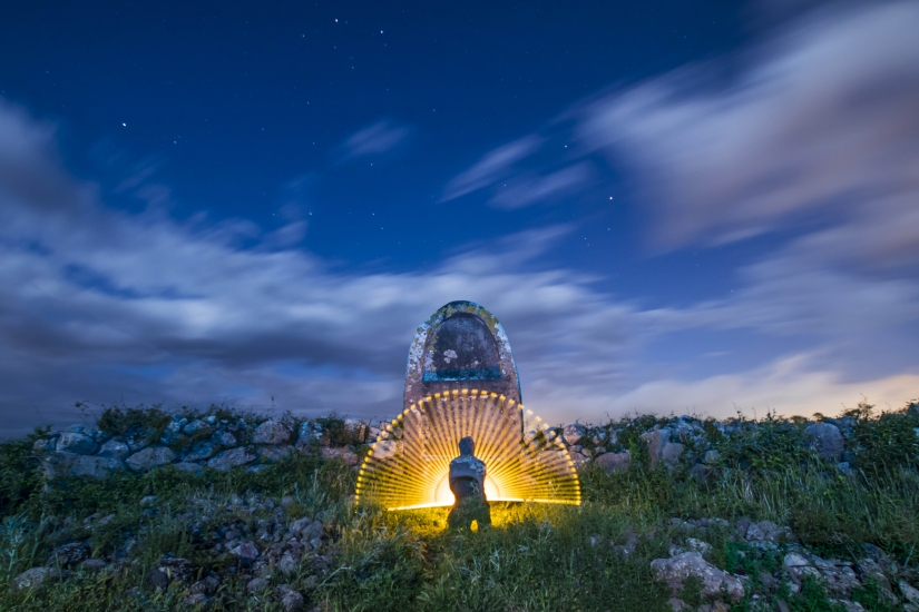 Lightpainting in Sardegna