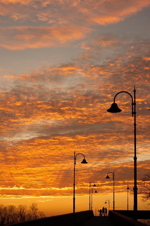 L'incanto di un tramonto
