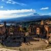 Lo sbuffo dell'Etna.