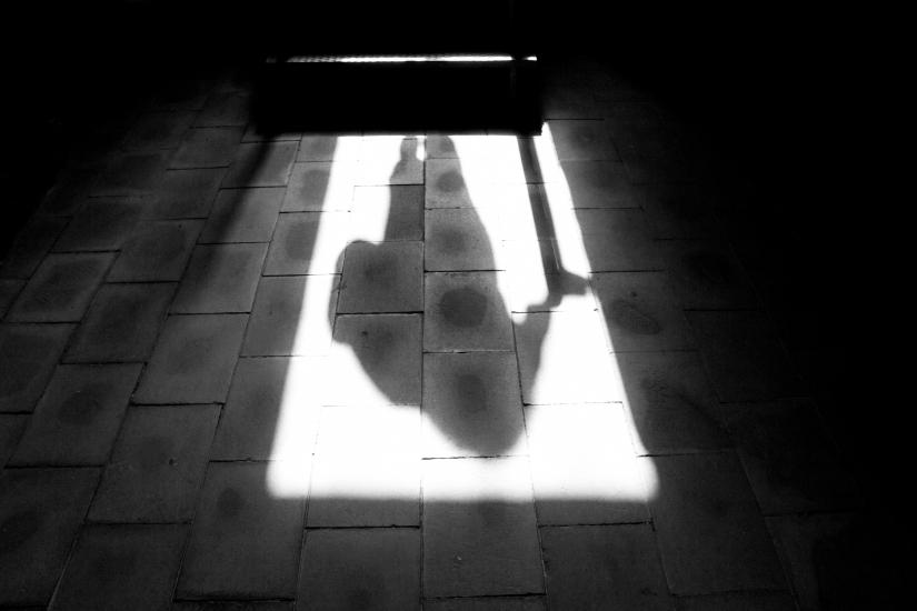 L'ombra di un turista