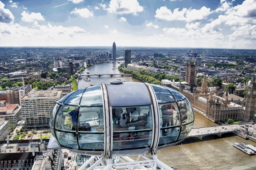 London at my feet