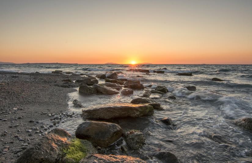 Luce di Sicilia al crepuscolo