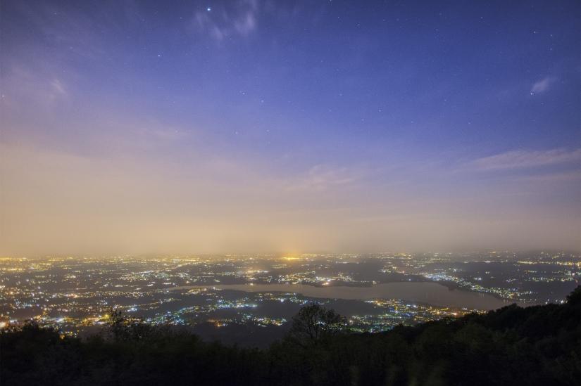 Luci di cielo di città