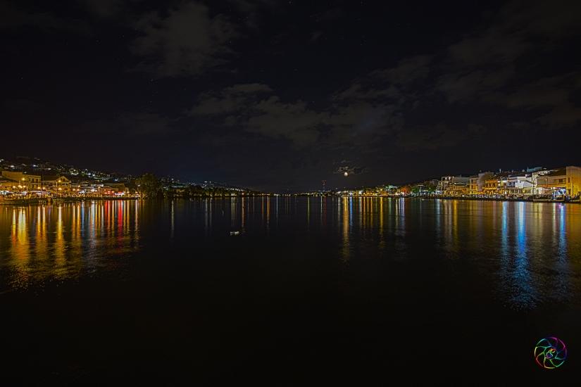 Luci e colori di una notte di fine agosto