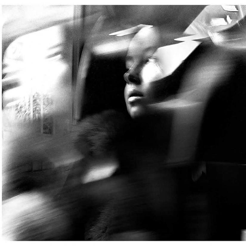 Luci in treno