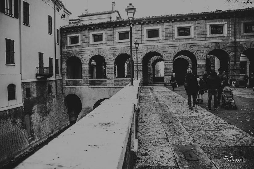 Lungo Rio - Mantova - B&W