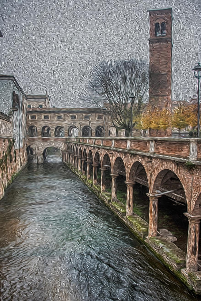 Lungorio scorcio - Mantova