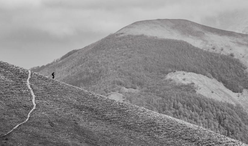 L'uomo e la montagna