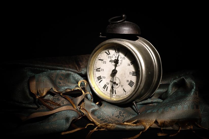 L'uomo segna il tempo, il tempo segna l'uomo