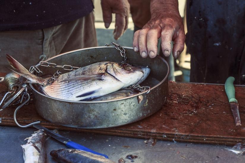 Mani da pescatore