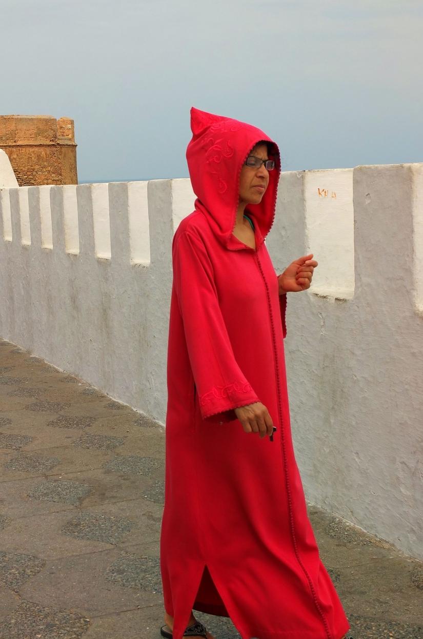 Marocchina incappucciata
