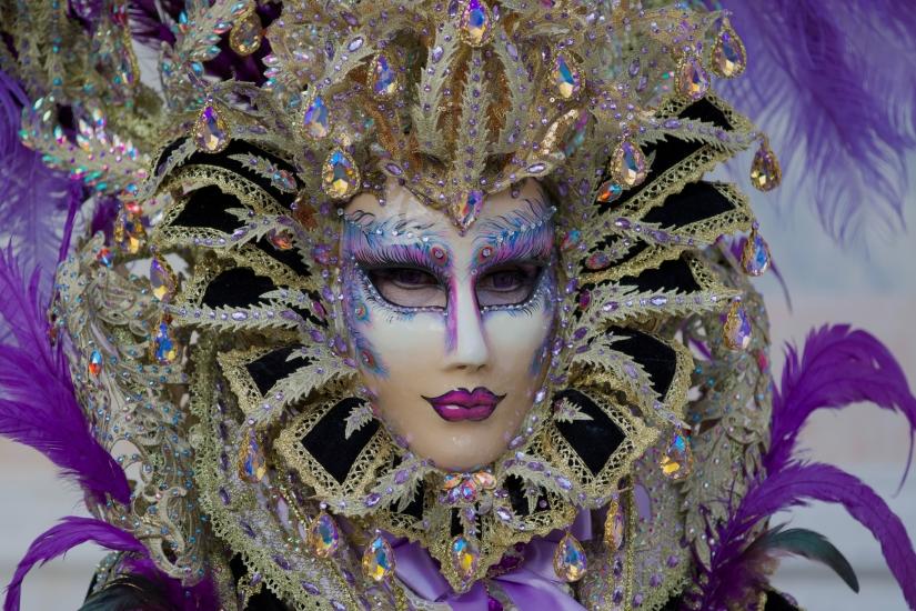 Maschera Carnevale 2018 Venezia