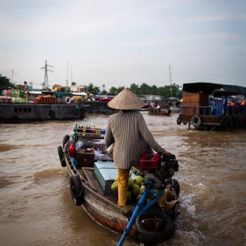 Mercato galleggiante di Cai Rang