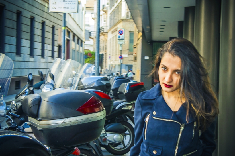 Milan, street portrait