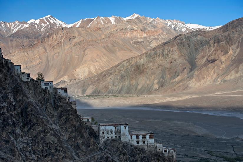 Monastaero di Karsha. Ladakh