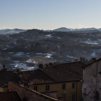 Mondovì: il XXIX Raduno nazionale delle mongolfiere visto dal pallone