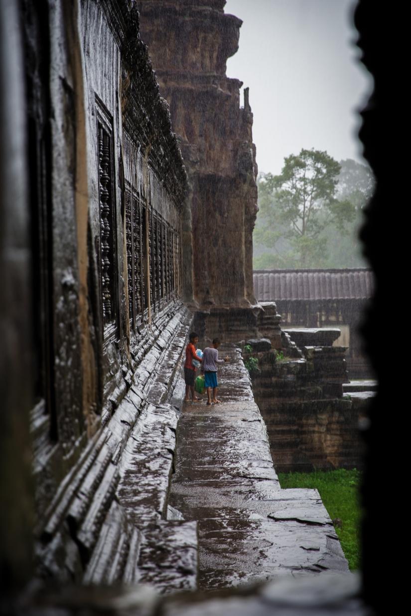 Monsone ad Angkor Wat