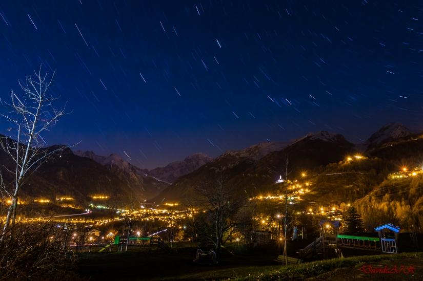 Mont Blanc Notturna