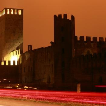 Montagnana by night!