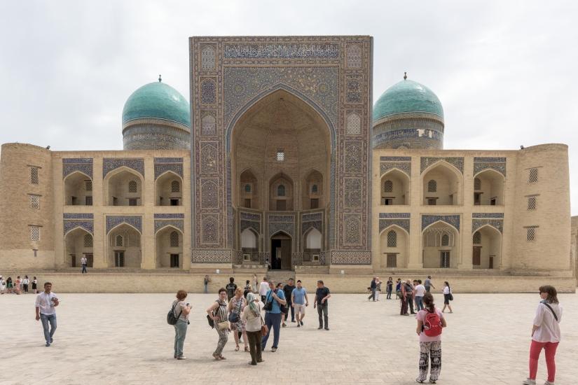 Moschea in piazza Registan