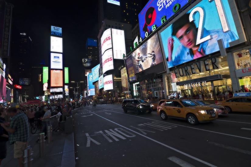Movimento a Times Square