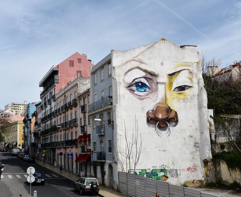 Murales Barrio Alto, Lisbona