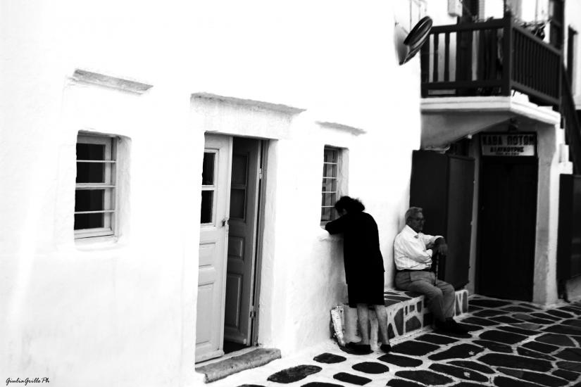 Mykonos e i suoi abitanti