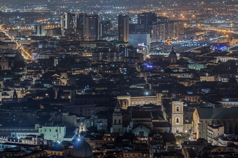 Napoli in the night