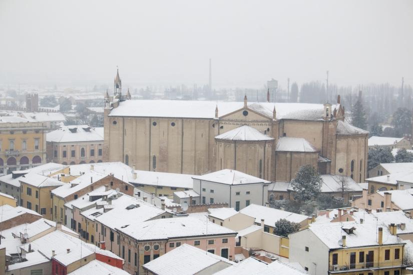 Neve a Montagnana (PD)